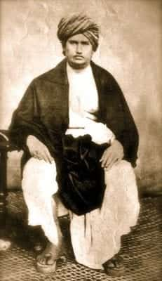 Svāmī Dayānanda Sarasvatī, founder of the reformist movement Ārya Samāja. Source: Wikimedia commons