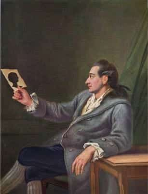Portrait of Goethe at 26, by Georg Melchior Kraus.