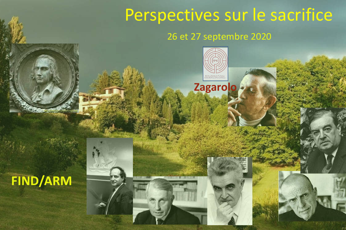 Symposium Perspectives sur le sacrifice 2020
