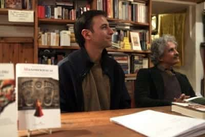 2/2 - DANIÉLOU'S BOOKS PRESENTED AT THE ASEQ BOOKSHOP in Rome (credits: Mario D'Angelo)