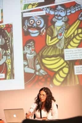 3/9 - SUMMER MELA 2014 - Samita Arni and Raj Rewal's talk at MAXXI Museum of Rome (crédits : Mario D'Angelo)