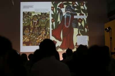 4/9 - SUMMER MELA 2014 - Samita Arni and Raj Rewal's talk at MAXXI Museum of Rome (crédits : Mario D'Angelo)