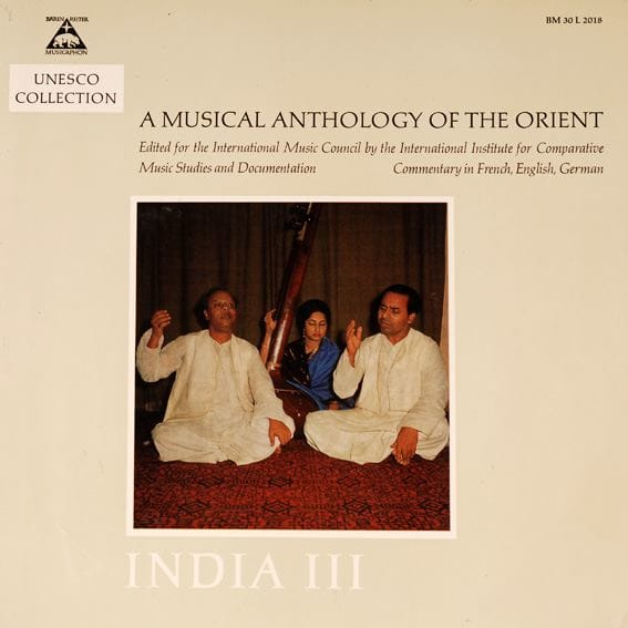 Musical Anthology of the Orient - India