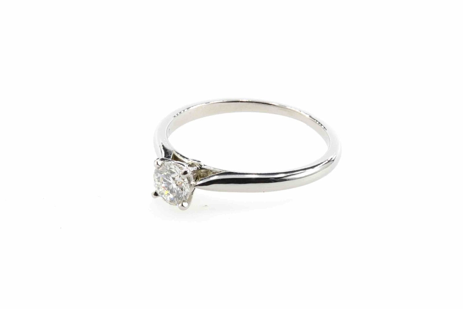 Bague solitaire 1895 Cartier diamant en platine