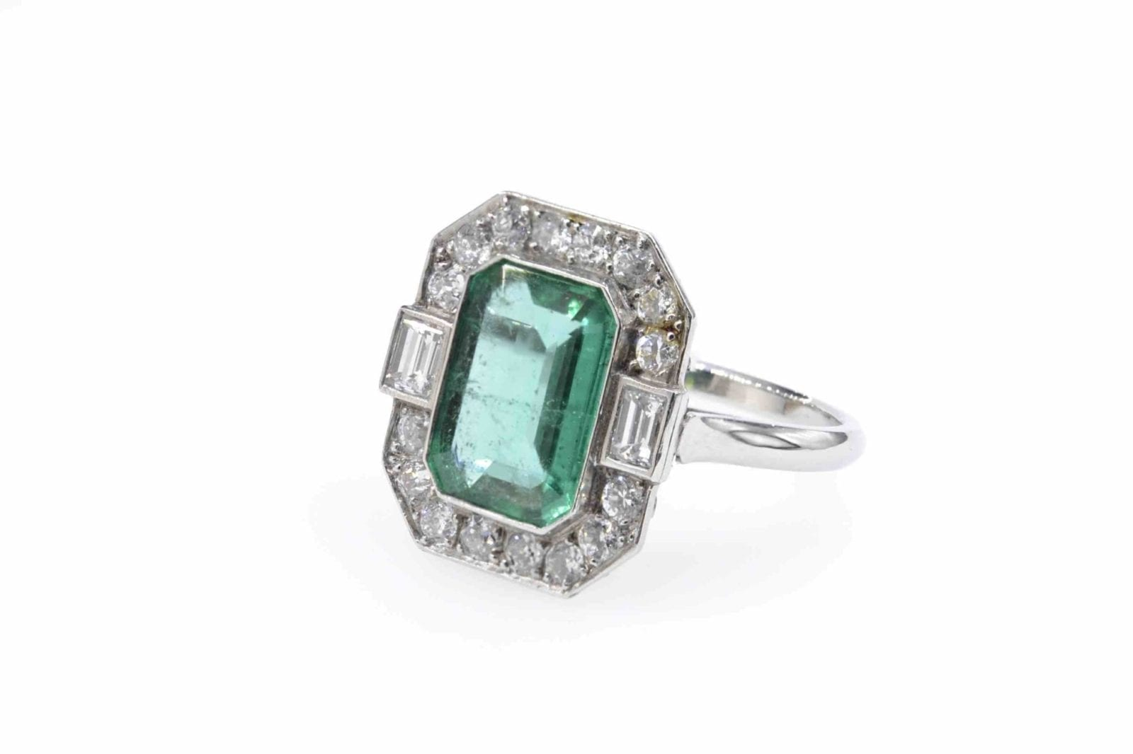 bague emeraude naturelle