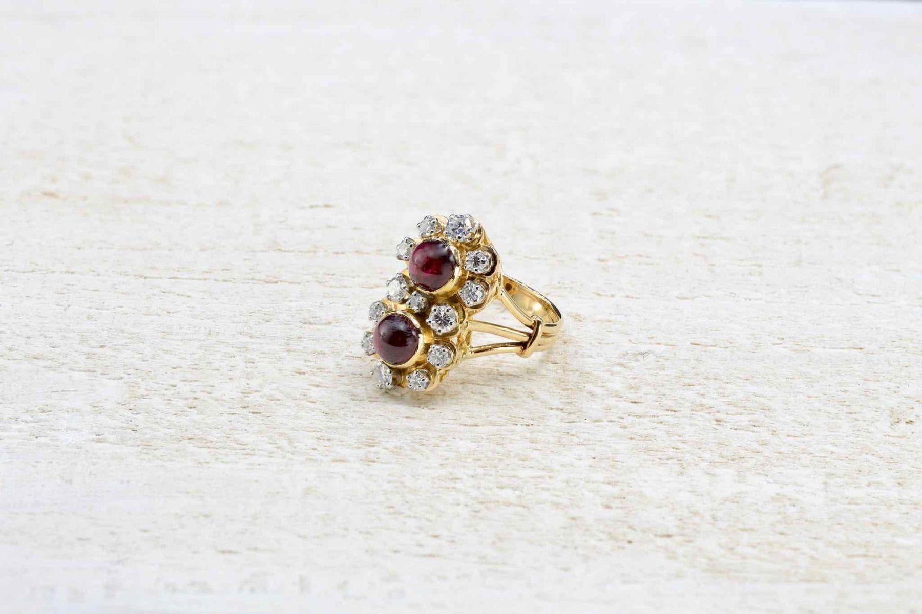 Antique garnets ring