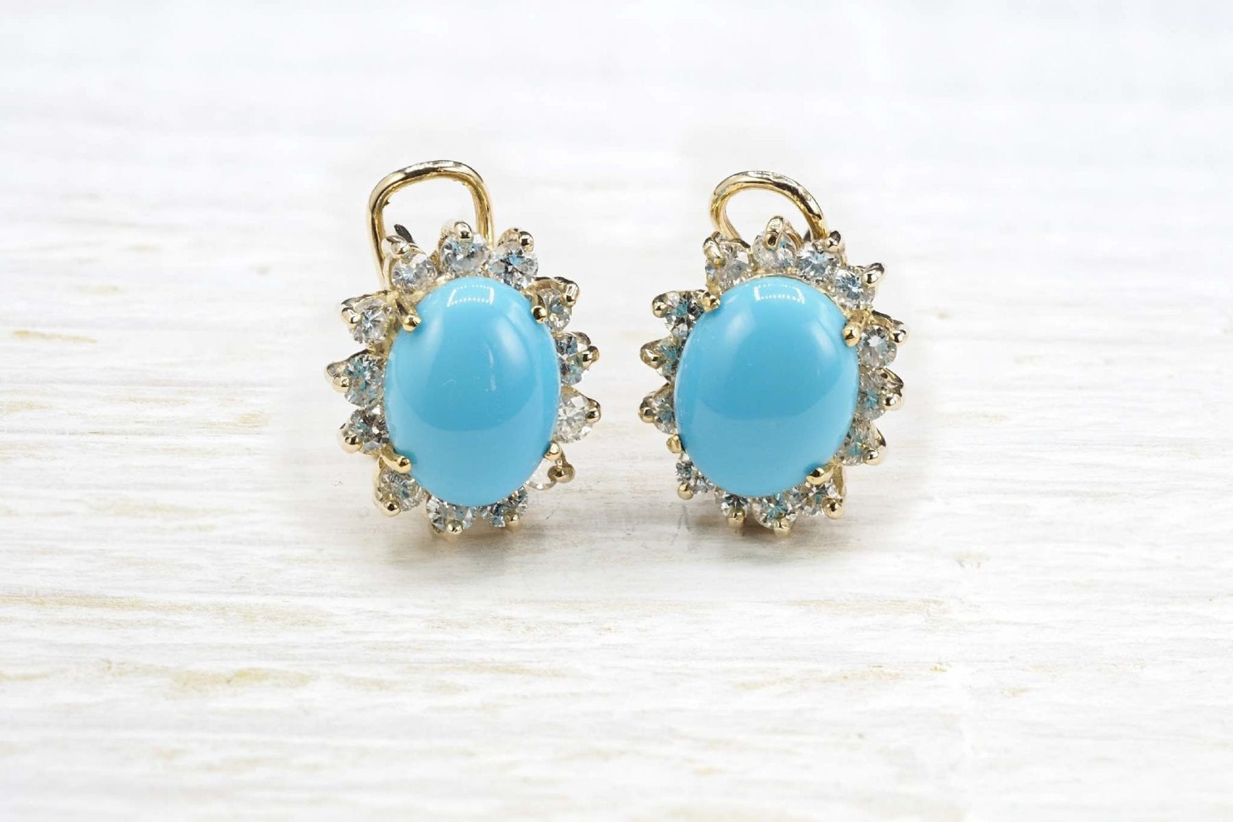 turquoises earrings