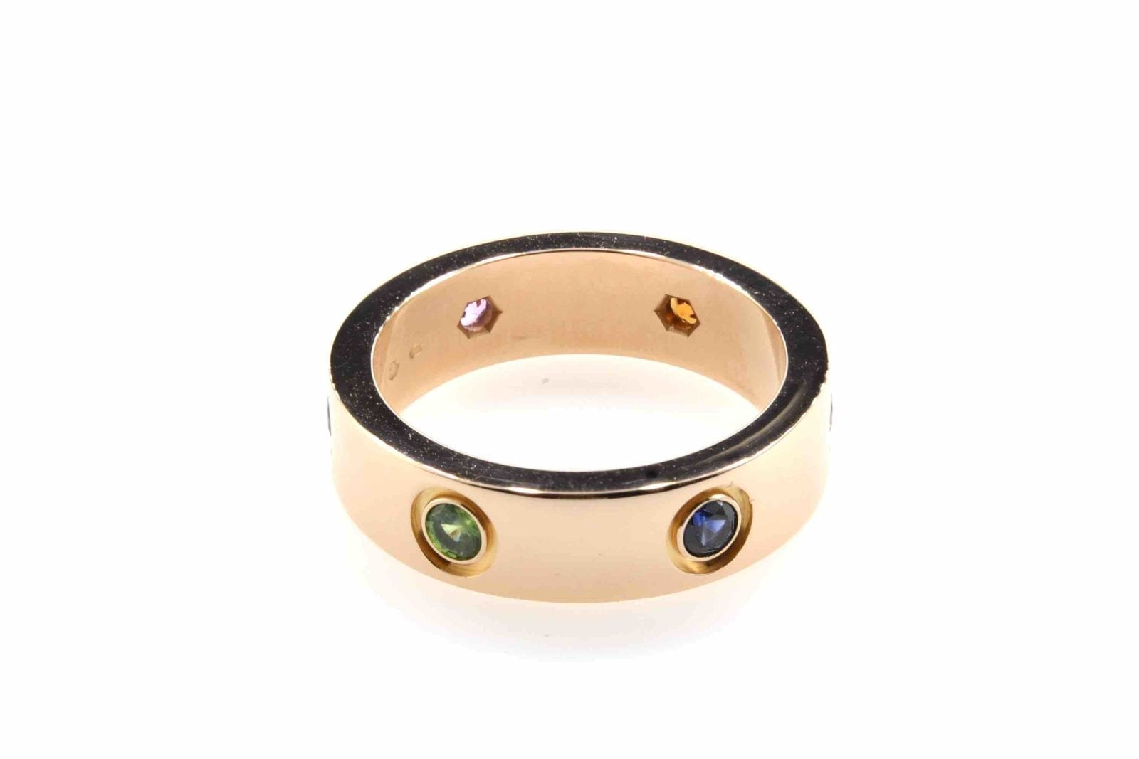 "Cartier ""Love"" ring in 18k yellow gold with fine stones"