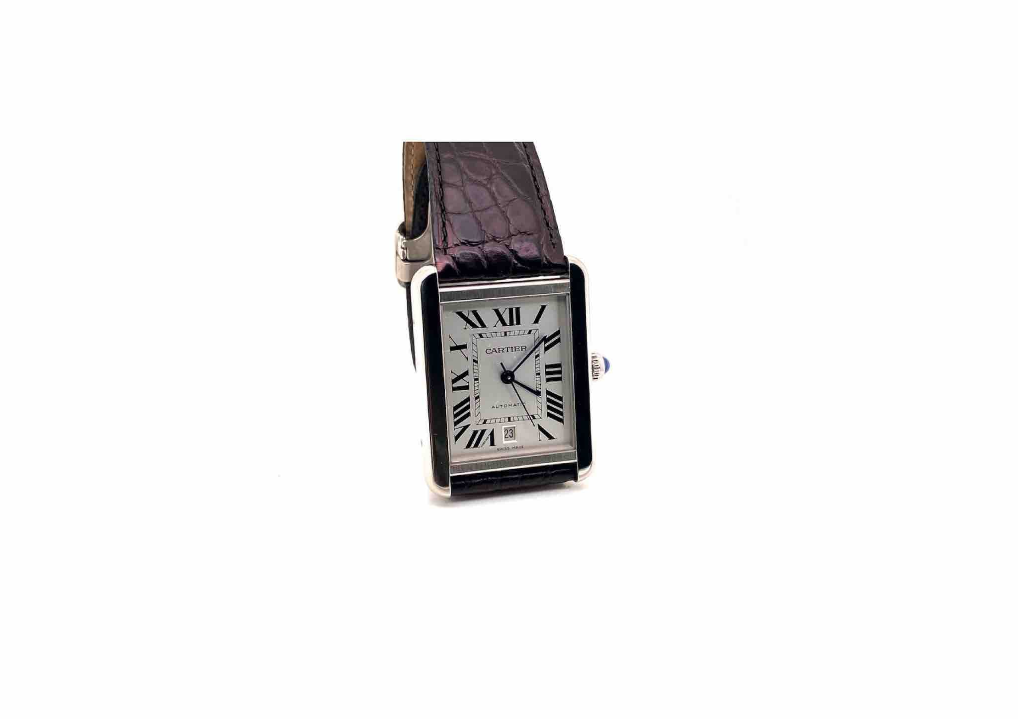 montre Cartier Tank Solo XL
