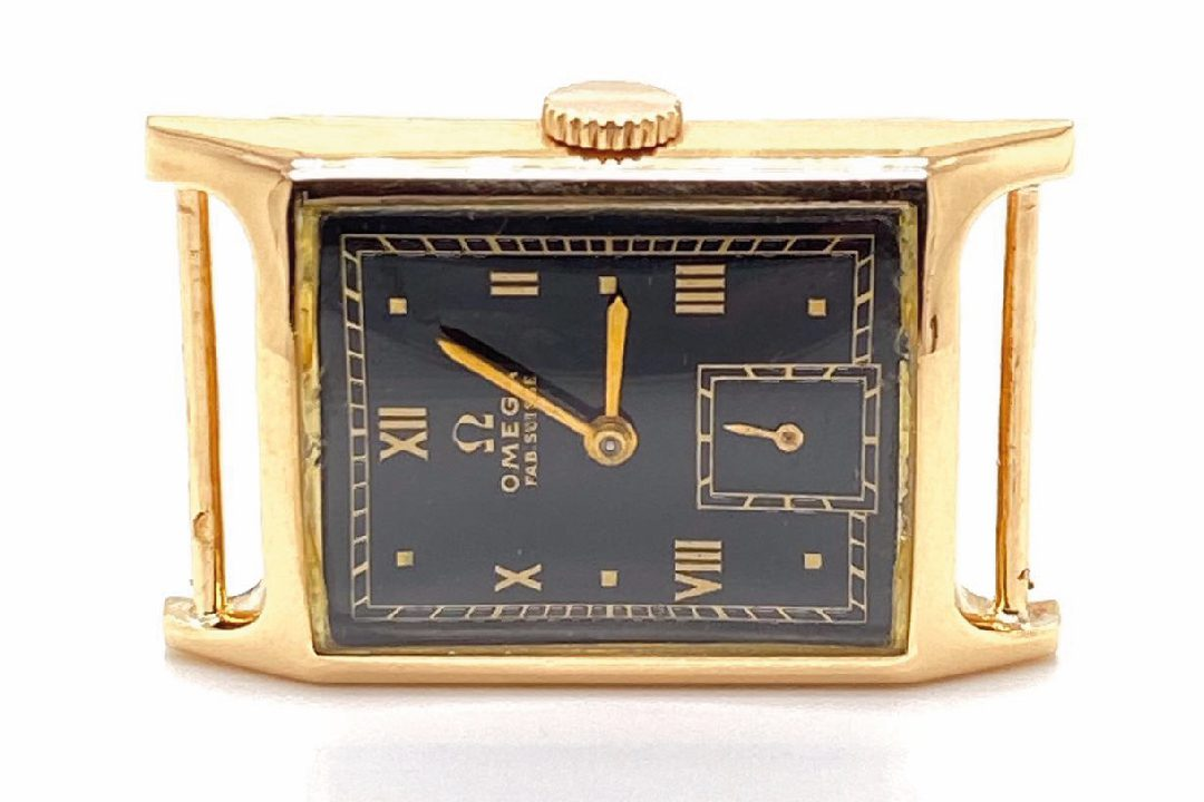 Montre Oméga 1940 en or 18k