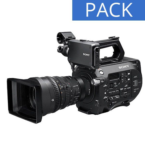 PACK CAMESCOPE SONY PXW-FS7