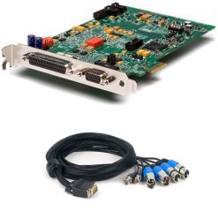 CARTE AUDIO QUICKLINK AES 4 CANAUX